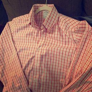 M NONIRON Brooks Brothers Slim Fit Dress